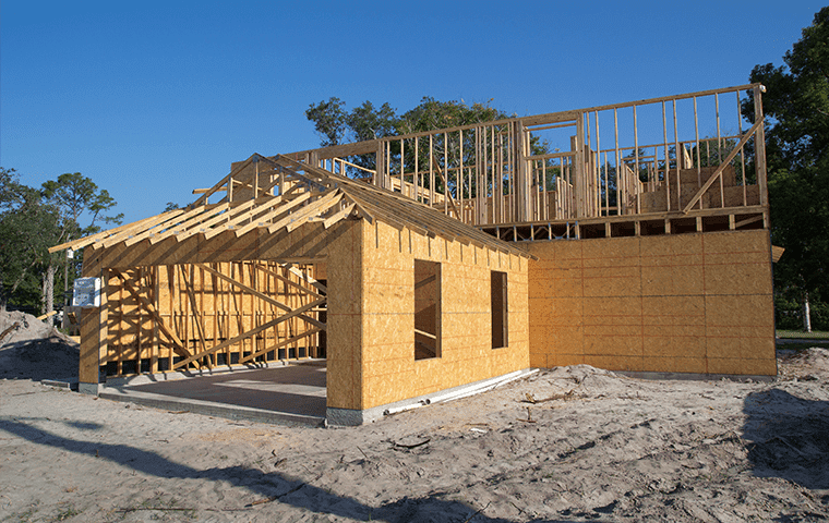 a new home being built in yulee florida