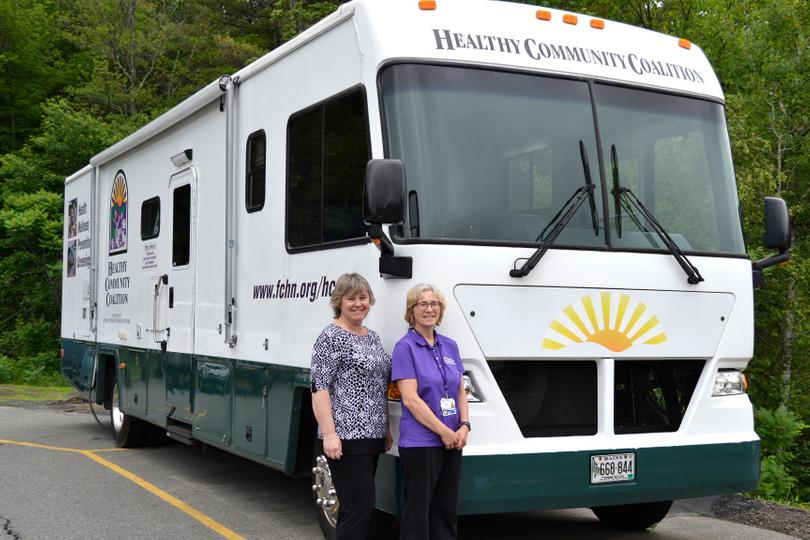 United Way helps people stay healthy by providing funds for Healthy Community Coalition's Mobile Health Unit to travel throughout the region.