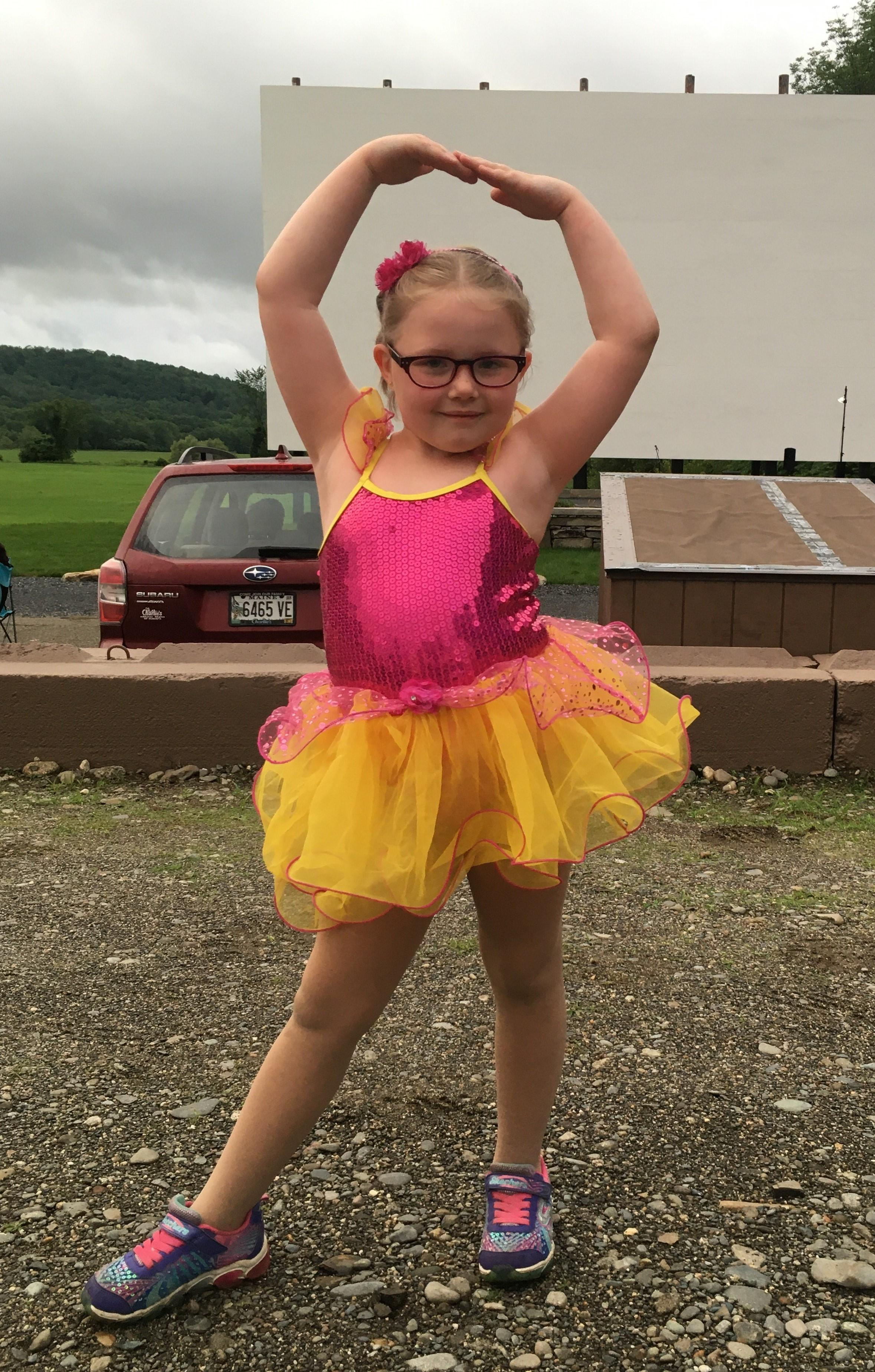 Peyton Ladd was able to participate in dance classes because of generous donations to the Hope Fund.