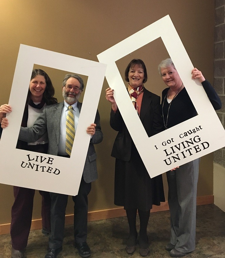 Franklin Community Health Network employees support United Way