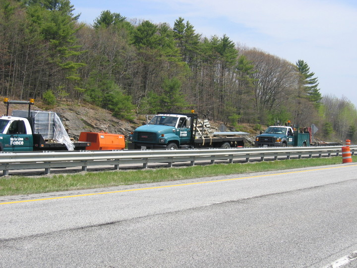 Photo #377, Guardrail Crew on I-295