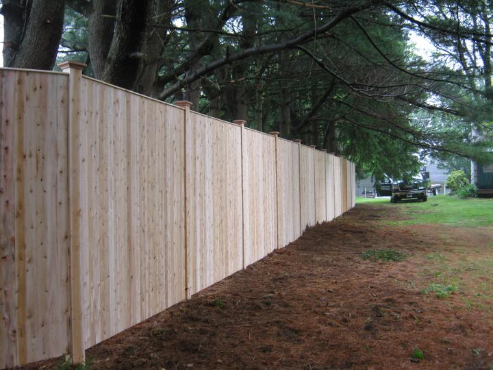 Photo #151, 8' Solid Board with Thin Cap Strip