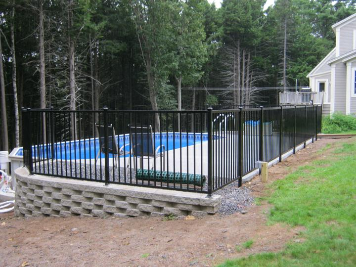 Photo #250, 4' Jerith 202 Style 2-Channel Pool Code Compliant