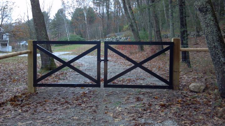 Photo #268, Aluminum Bar Gate
