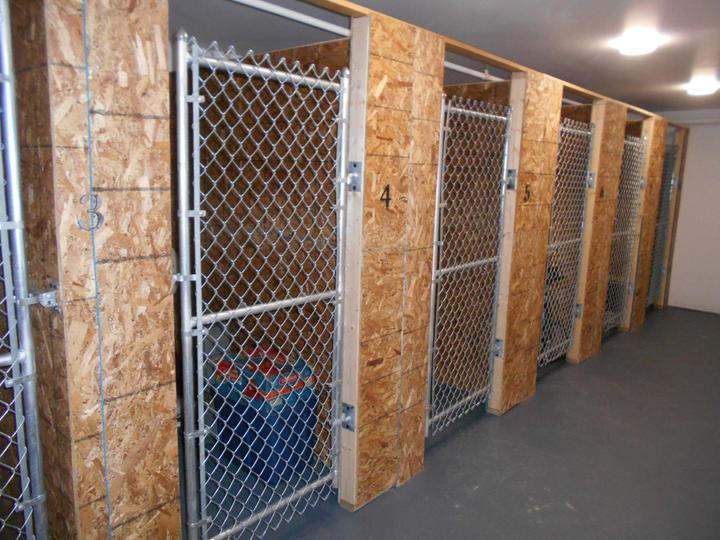 Photo #278, Galvanized Chain Link Kennel Gates