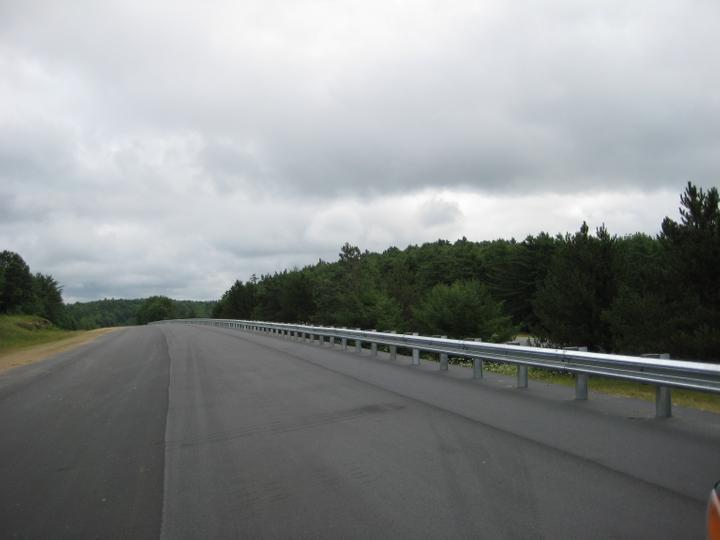 Photo #368, Steel Guardrail