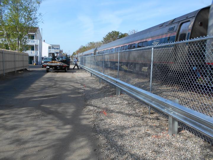 Photo #370, Steel Guardrail