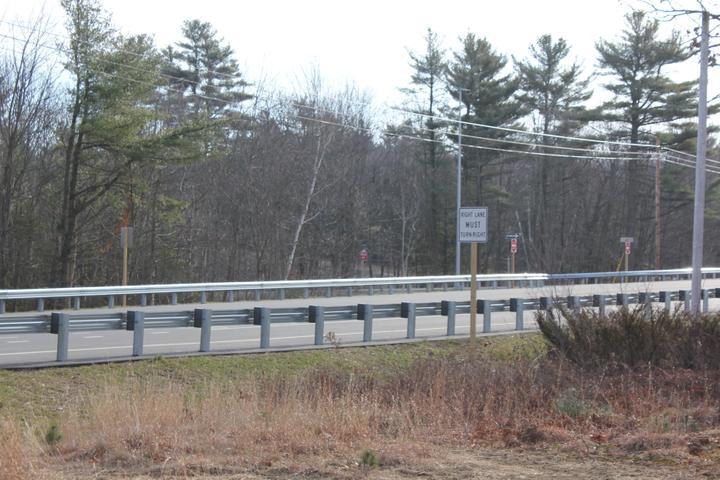 Photo #380, Steel Guardrail with Composite Blocks