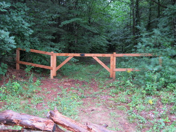 Photo #29, Board Fence Double Gate