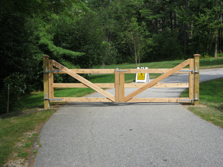 Photo #25, Cedar Board Double Gate