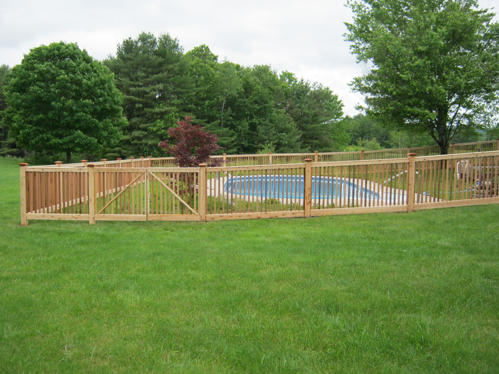 Photo #50, 4' Victorian Picket Fence - Pool Code Compliant