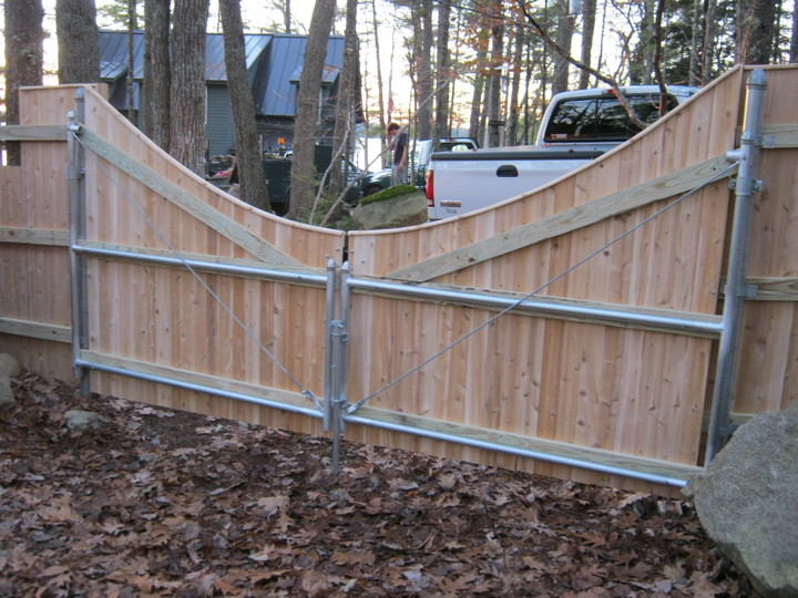 Photo #186, Scalloped Double Gate