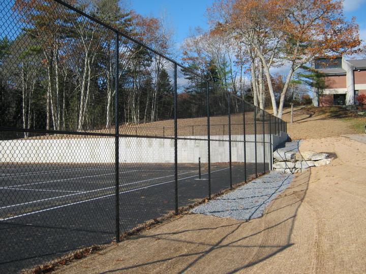 Photo #428, Black Vinyl Tennis Court