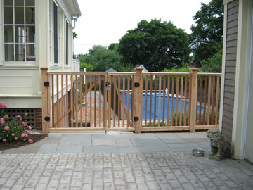 Photo #44, Victorian Picket Double Gate