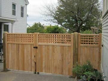 Photo #103, Board & Lattice Double Gate