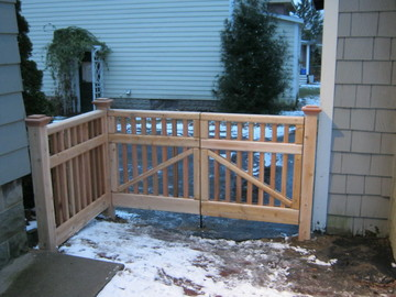 Photo #39, Victorian Picket Double Gate