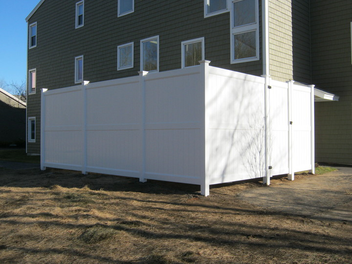 Photo #214, 8' High Solid Board Privacy Fence