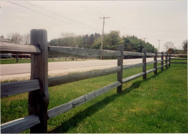 Photo #11, 3-Rail, Western Red Cedar Split Rail