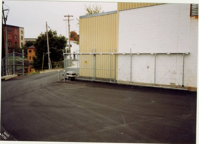 Photo #36, 6' Chain Link Plus 1' Barb Wire and Cantilever Slide Gate with Gate Operator