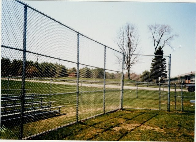 Photo #48, Galvanized Chain Link Back Stop