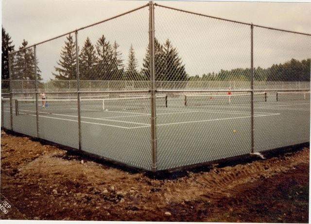 Photo #58, Galvanized Tennis Court Enclosure