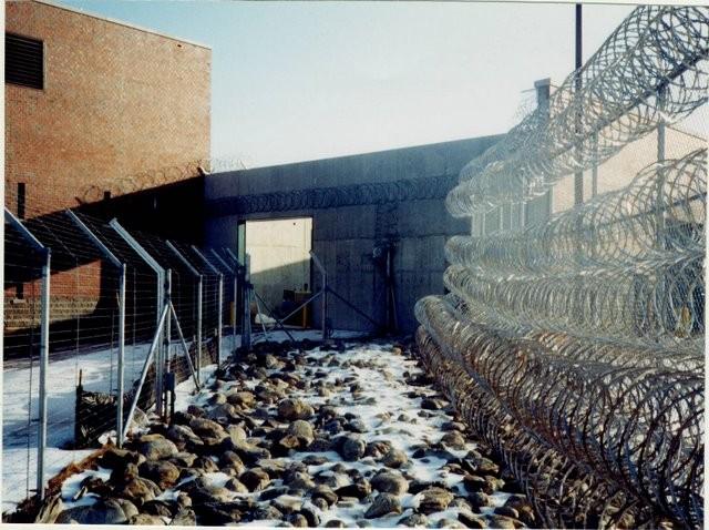Photo #62, Prison Fence with Razor Ribbon