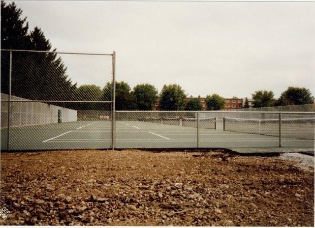Photo #54, Galvanized Tennis Court Enclosure, 10' and 4' Fabric