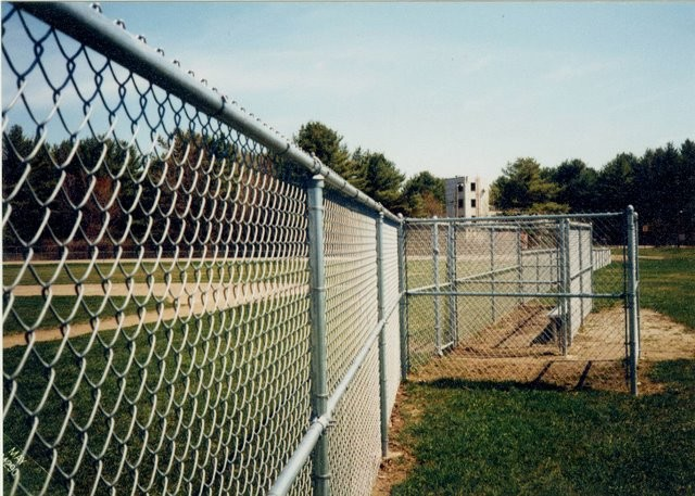 Photo #51, 6' Chain Link Fence and Dugout
