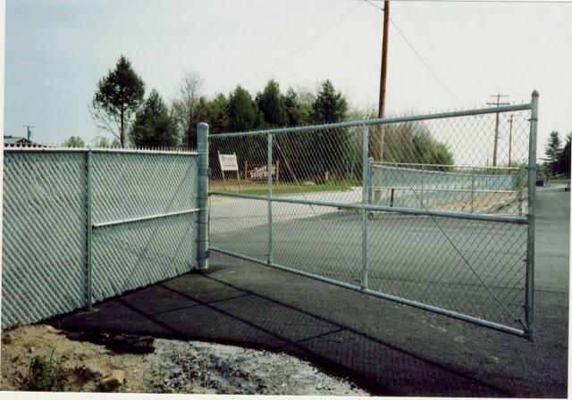 Photo #37, 6' Chain Link Single Swing Gate