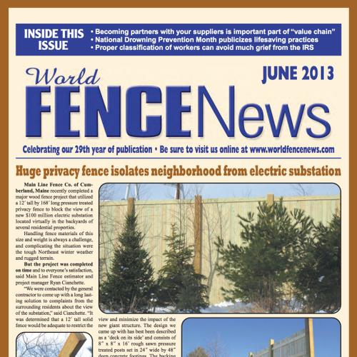 WORLD FENCE NEWS