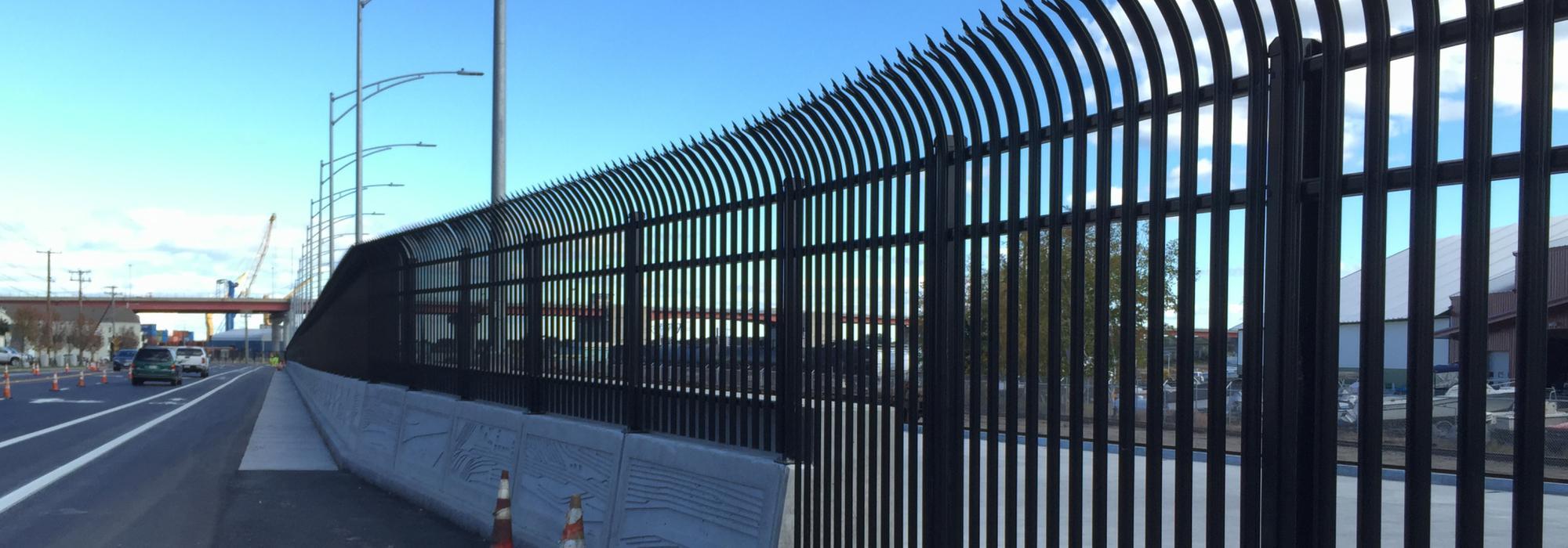 Industrial Ornamental Fences