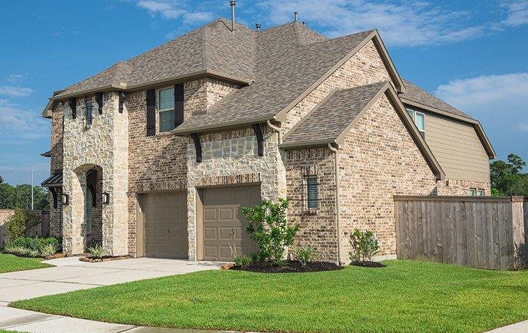 a beauktiful brick home in texas