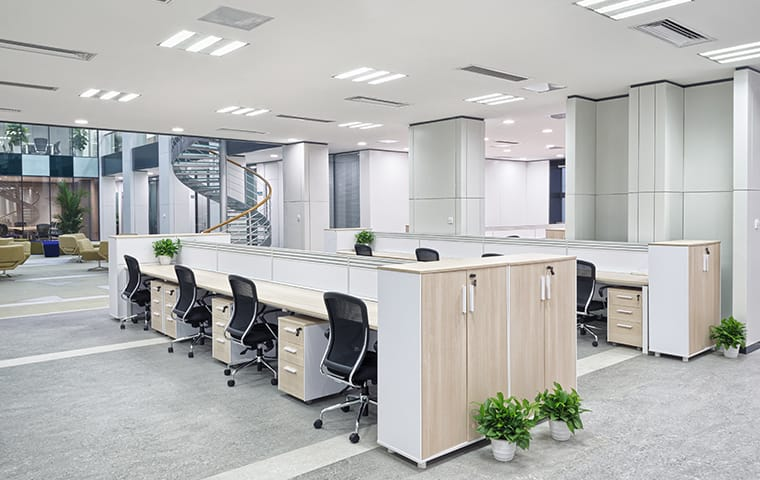 interior of an office in indianapolis indiana