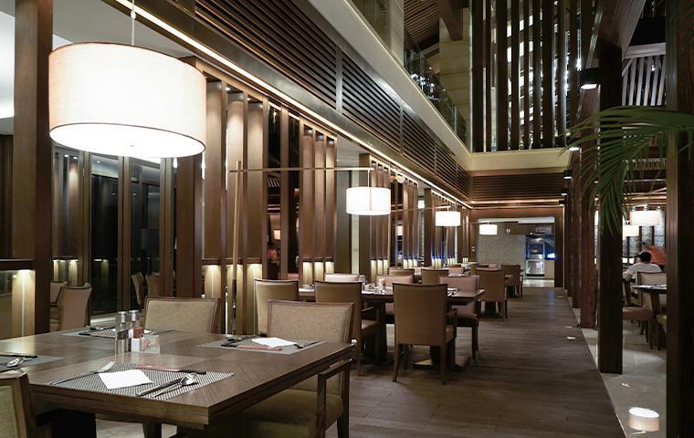 interior of a restaurant in plano texas