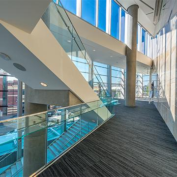 interior of a commercial building in plano texas