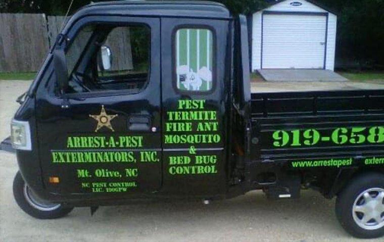 a company vehicle