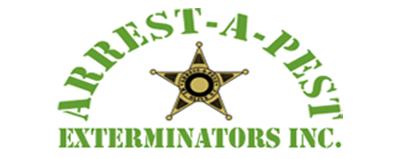 arrest a pest logo in color