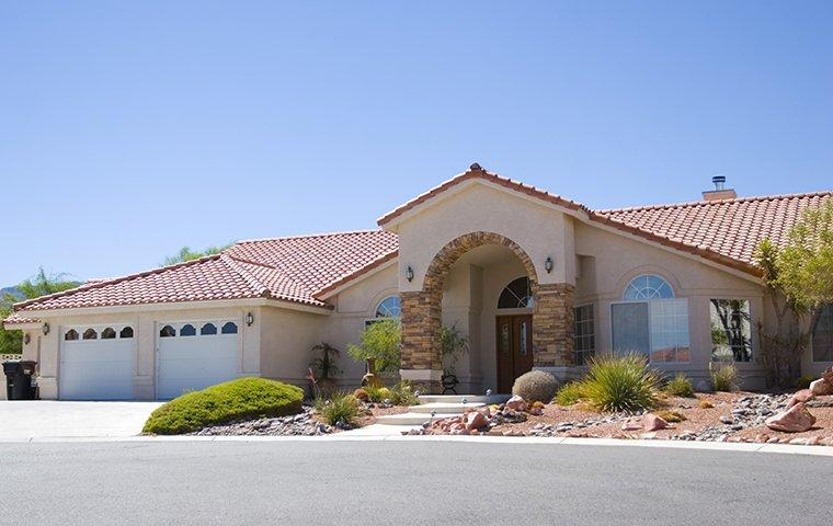 street view of a stucco home in green valley nevada