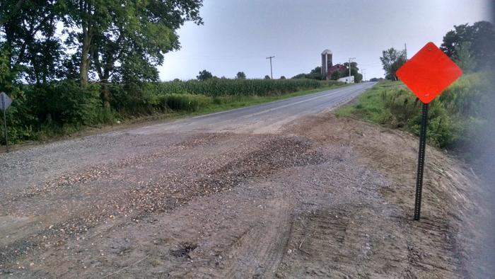 Caution: Aug-Sept 2018 construction on CR14 between Morley and Bucks Bridge