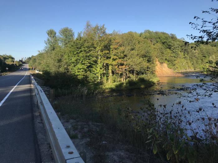 Bridge over Grass River near Pyrites