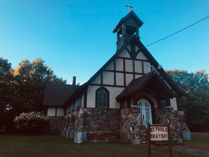 St. Paul's Oratory in Pyrites (Credit: St. Lawrence County Chamber of Commerce)