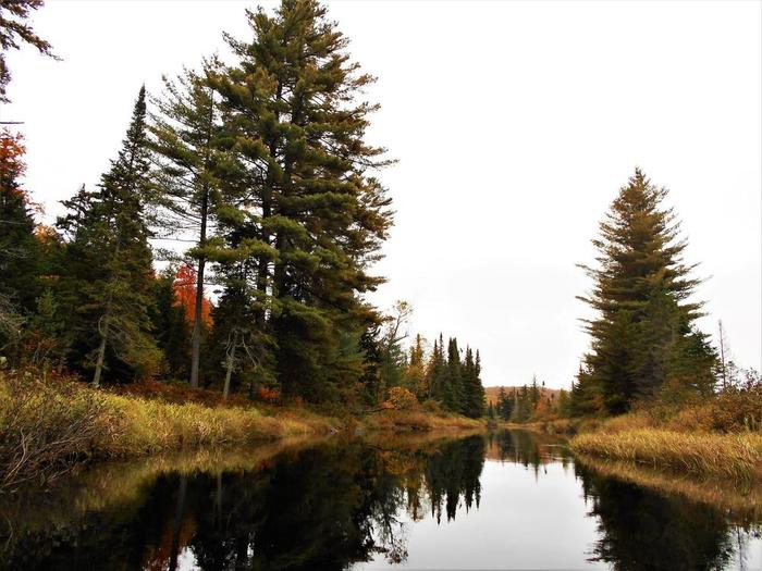 October on the river (Credit: Wm Hill- Hiking the trail to yesterday)