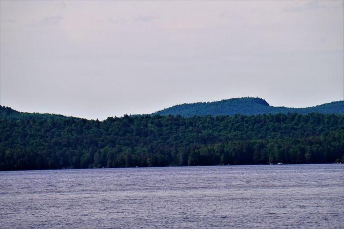Cat Mountain from Cranberry Lake (Credit: Wm Hill- Hiking the trail to yesterday)