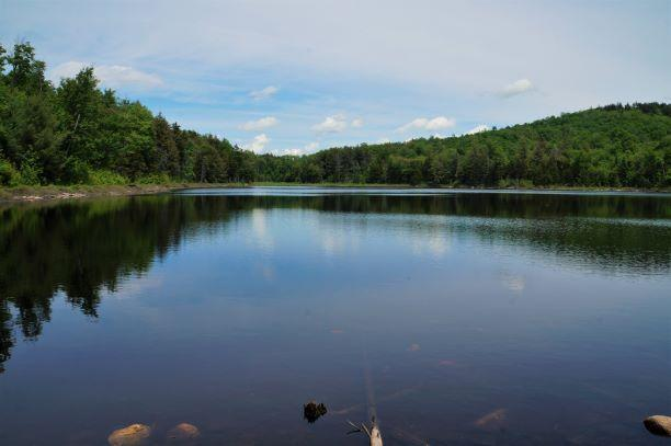 Glasby pond (Credit: Wm Hill/Hiking the trail to Yesterday)