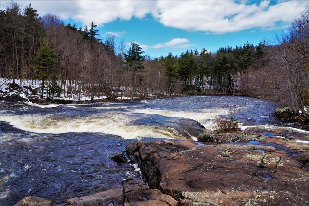 Winter on the Raquette river (Credit: Wm.Hill/Hiking the trail to Yesterday)