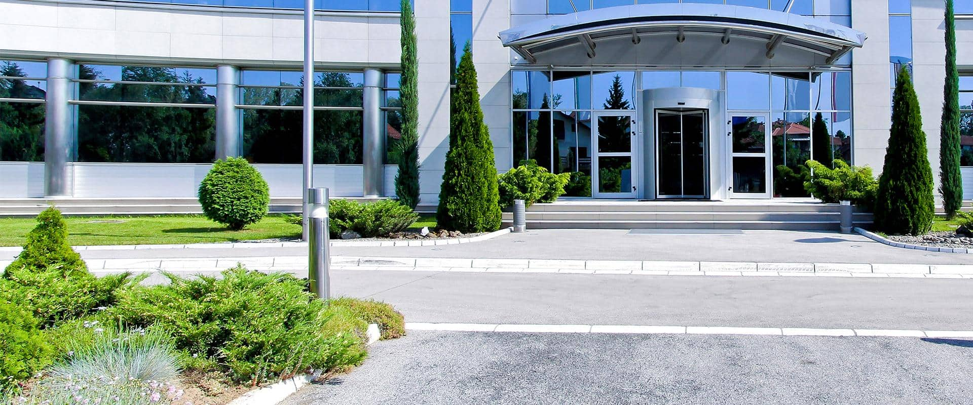 exterior of a commercial building in portland oregon