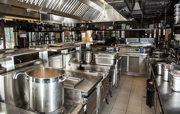 interior of a restaurant kitchen in woodburn oregon