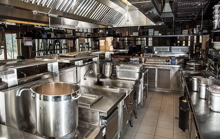 interior of a restaurant kitchen in woodburn oregon
