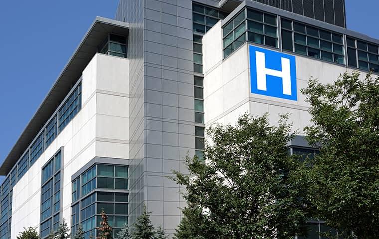 exterior view of an oregon hospital