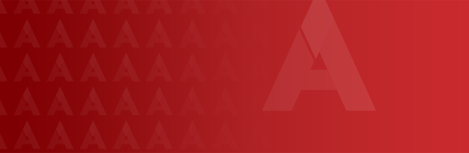a-1 logo banner in red